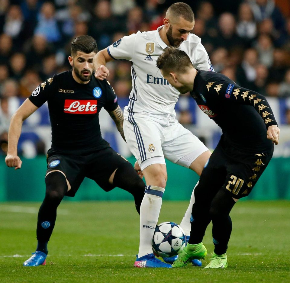Napoli vs Real Madrid